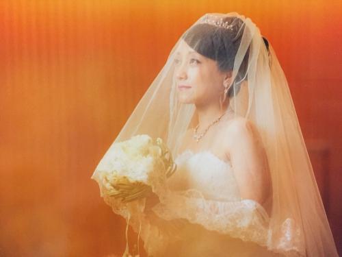 ノートルダム結婚式花嫁