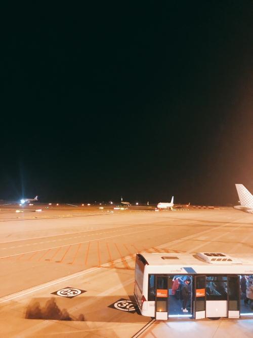 スペインに着きました(^_^)v