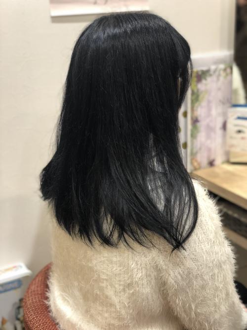 おすすめ!!透明感暗髪カラー! 調布美容院