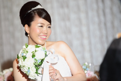 コルティーレ結婚式花嫁