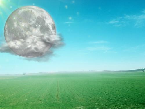 20日満月スーパームーンです。