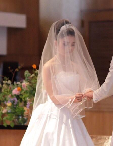 ICU 結婚式花嫁写真
