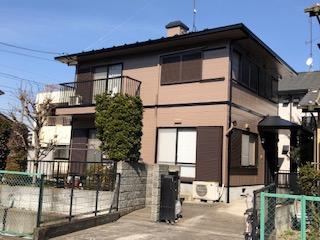 東松山市で屋根・外壁塗装工事が完了致しました