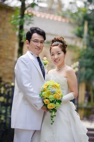 幸せ花嫁写真が届きました