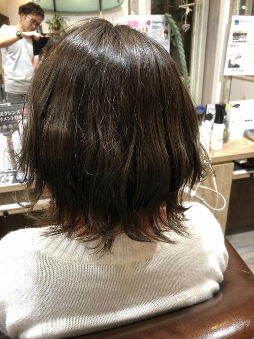 調布美容院おすすめインナーカラーヘアサロン