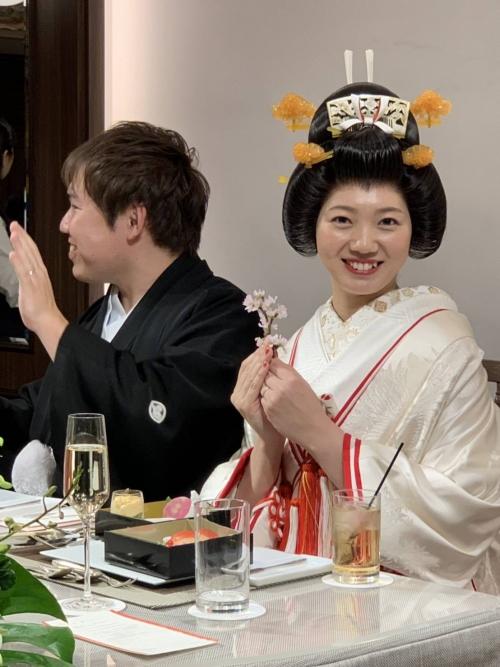 横浜迎賓館和装花嫁