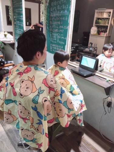 墨田区で子連れで行ける美容室です♪