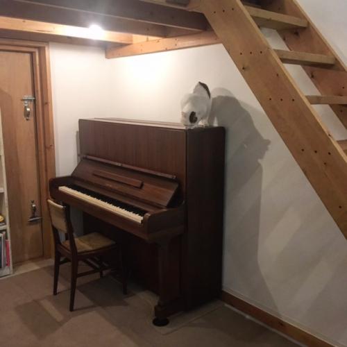 ピアノがきました!