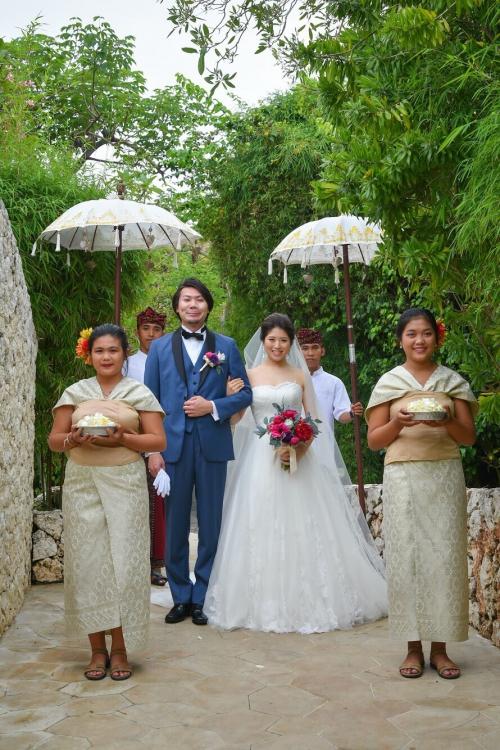 海外挙式花嫁ウェディング