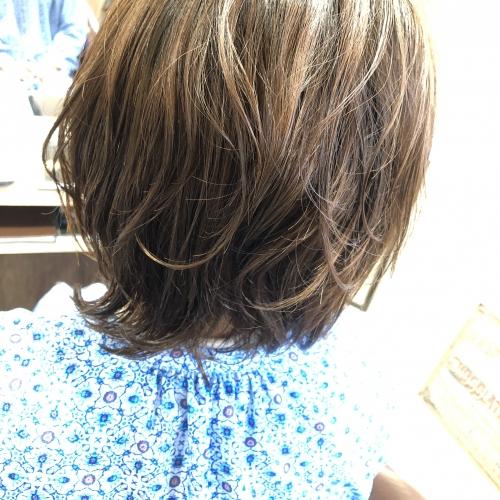 おすすめデジタルパーマヘアスタイル調布美容院
