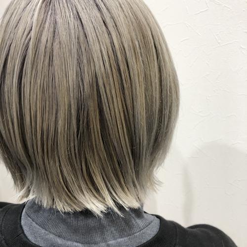 おすすめヘアスタイルボブグレージュ調布美容院
