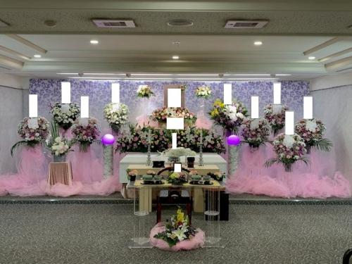 戸田斎場にて家族葬