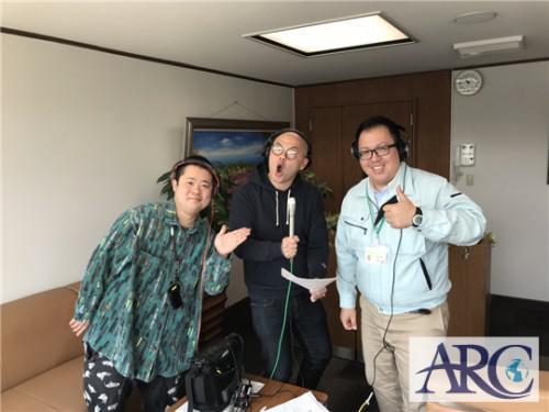 アークスタッフがラジオに生出演!!