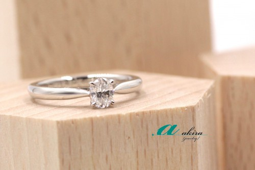 台東区からお越しのお客様、婚約指輪のオーダーメイドのご注文