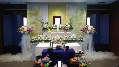 所沢市斎場にて家族葬