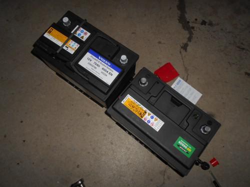 ボルボV70バッテリー交換したら一度リセット作業して下さい