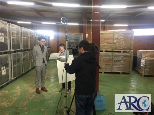 HBCテレビ4月30日放送「みにっつ!」取材収録してきました