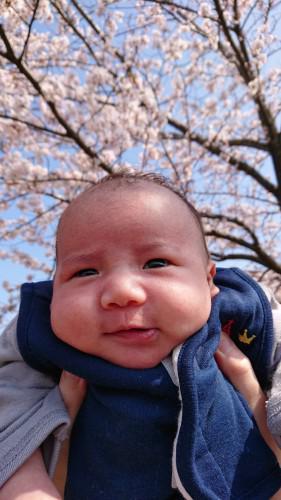 美月子育て中★~お宮参り~