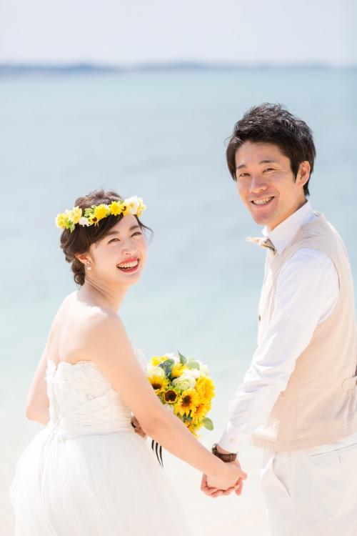 沖縄前撮り花嫁