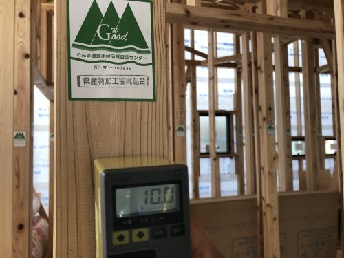 群馬 平屋 伊勢崎 県産材 検査