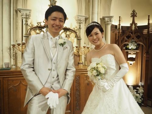 ハートコート花嫁