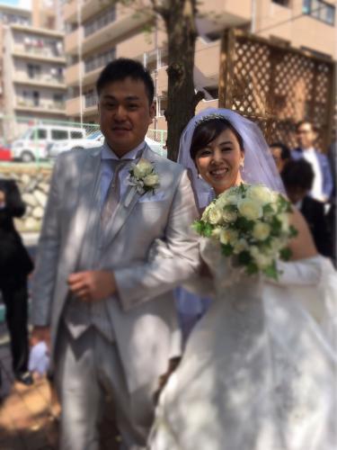 セントラフェイロ4月20日結婚式