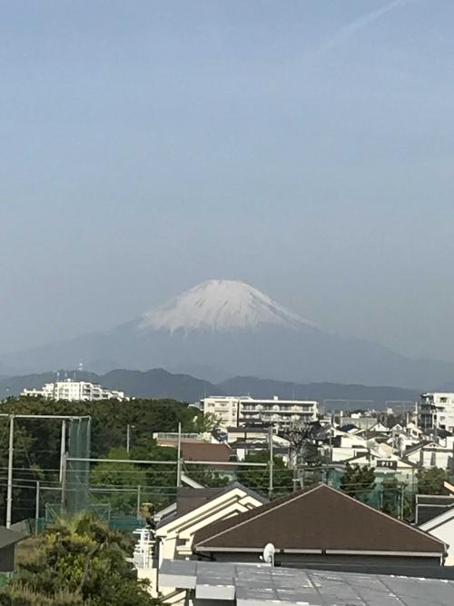 令和の富士山