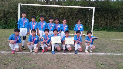 U-11トヨタカローラ杯準優勝!