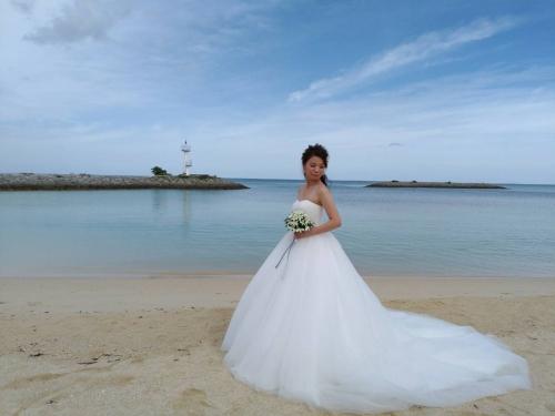 沖縄挙式花嫁