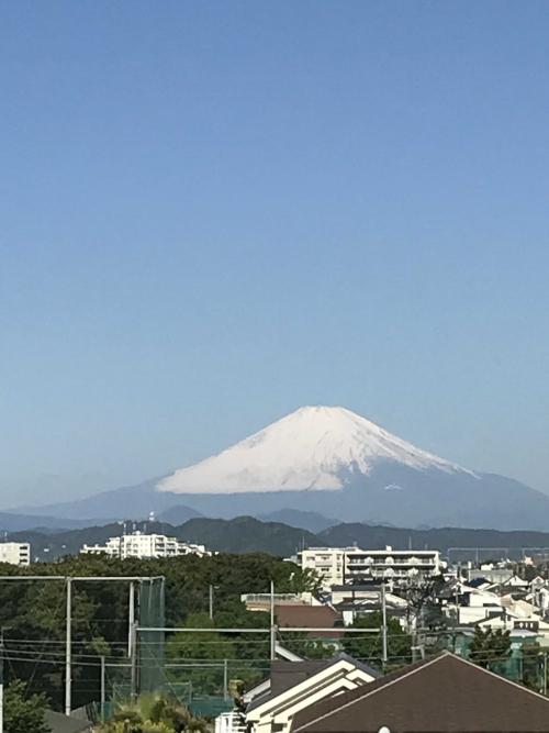 今日の富士山❤️