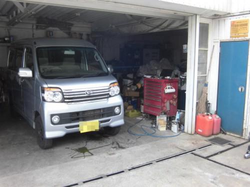 横浜市N様 S331Gアトレーワゴン ハブベアリング交換