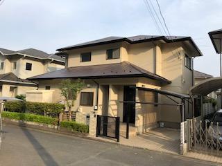 鳩山町で屋根・外壁塗装工事が完了致しました
