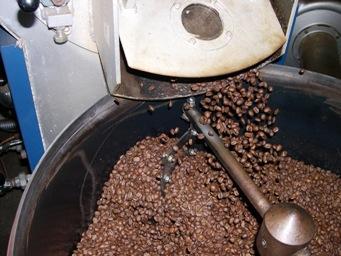 コーヒ豆の変化