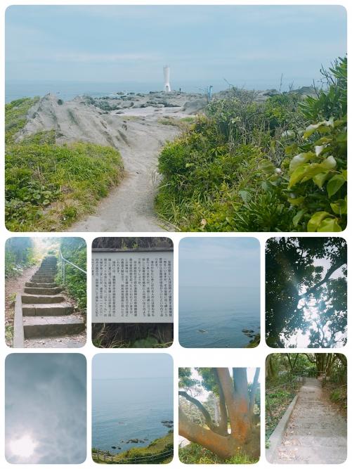 神奈川県安房崎灯台に来ました!