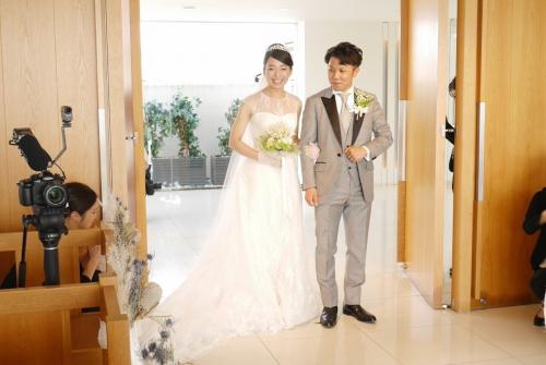 アマンダンブルー結婚式花嫁