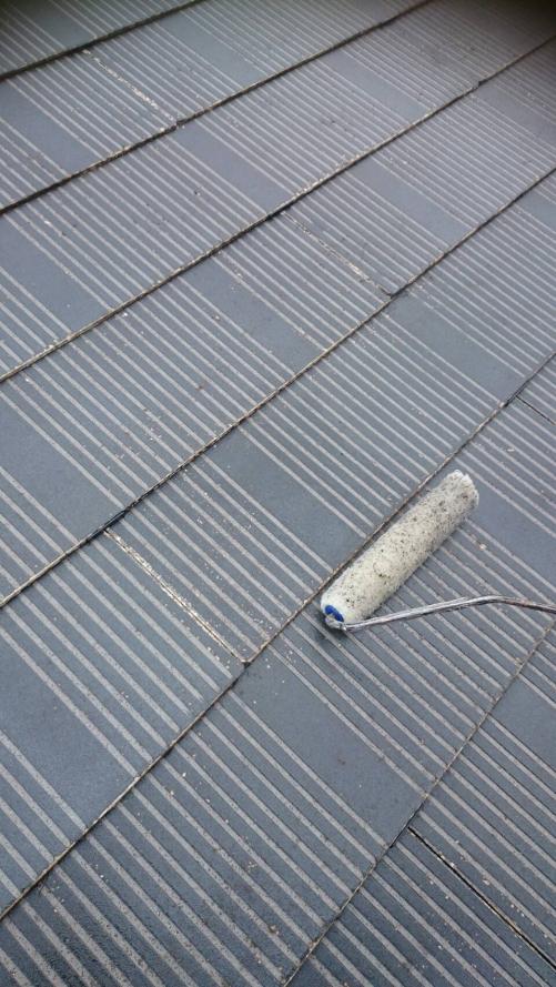入間市屋根下塗り