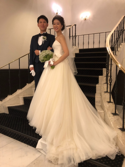 ザコンチネンタル結婚式花嫁