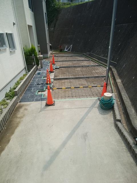 栄区で土間コンクリート工事