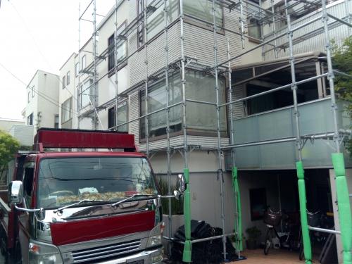 東京都目黒区某所塗装工事