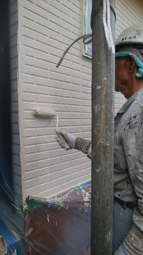 さいたま市浦和区上塗り施工