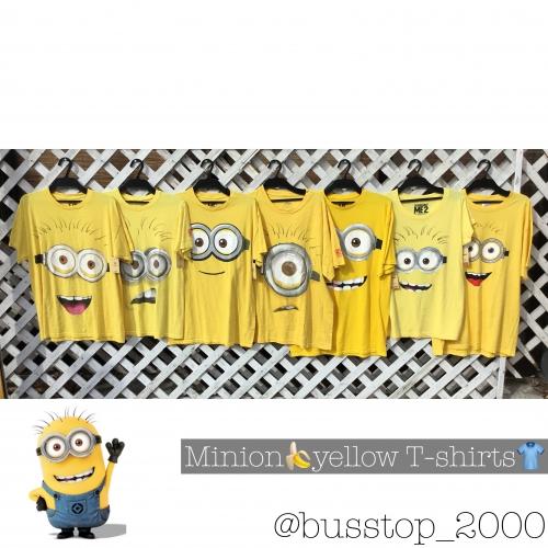 ミニオンズの黄色Tシャツ入荷しました!