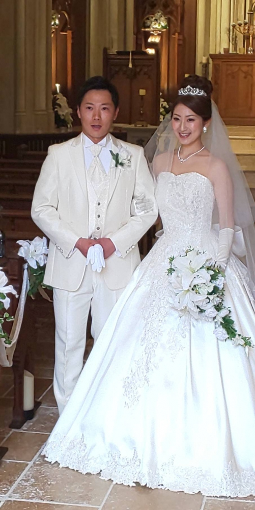 ハートコート♥️花嫁