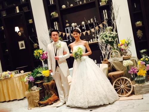 コットンハーバー結婚式花嫁