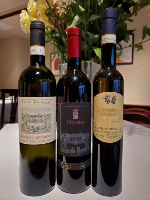 首都ローマのあるラツィオ州のワインです(^ ^)