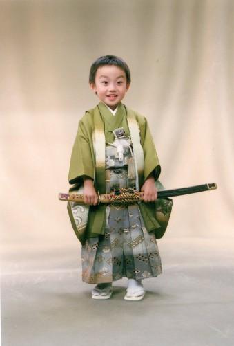 七五三5歳:ニコニコして撮れました!有難うございます。