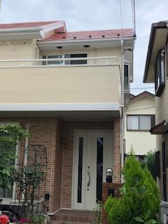 坂戸市で屋根・外壁塗装工事が完了致しました