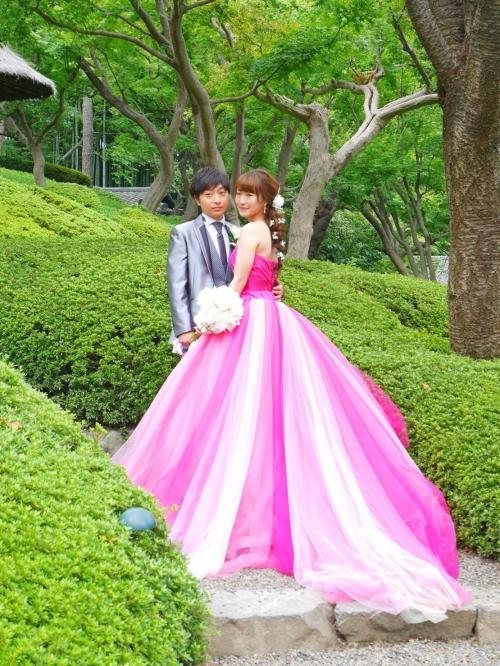 八芳園結婚式花嫁