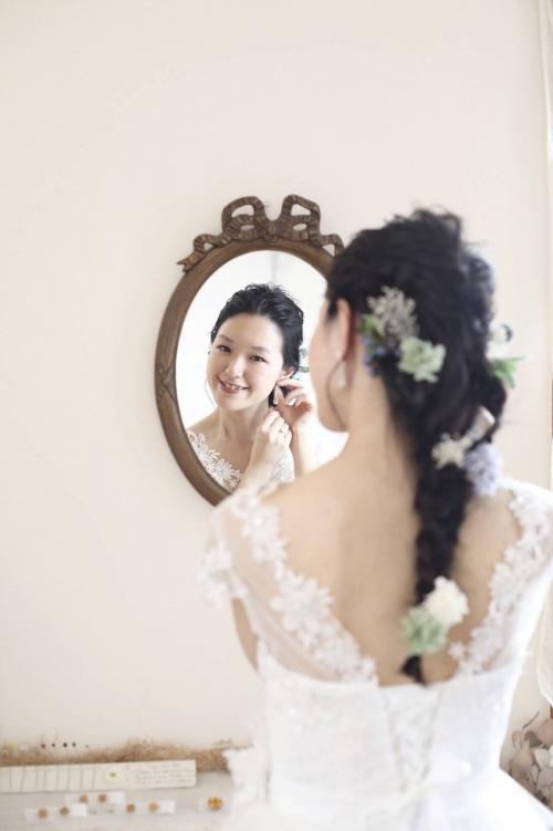 ハートコート花嫁❤️