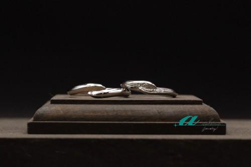 世界にたった一つ二人だけの結婚指輪