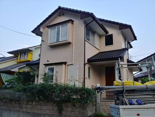 東松山市で屋根瓦・外壁塗装工事が完了致しました